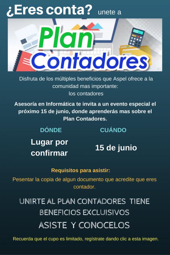 Plan Contadores