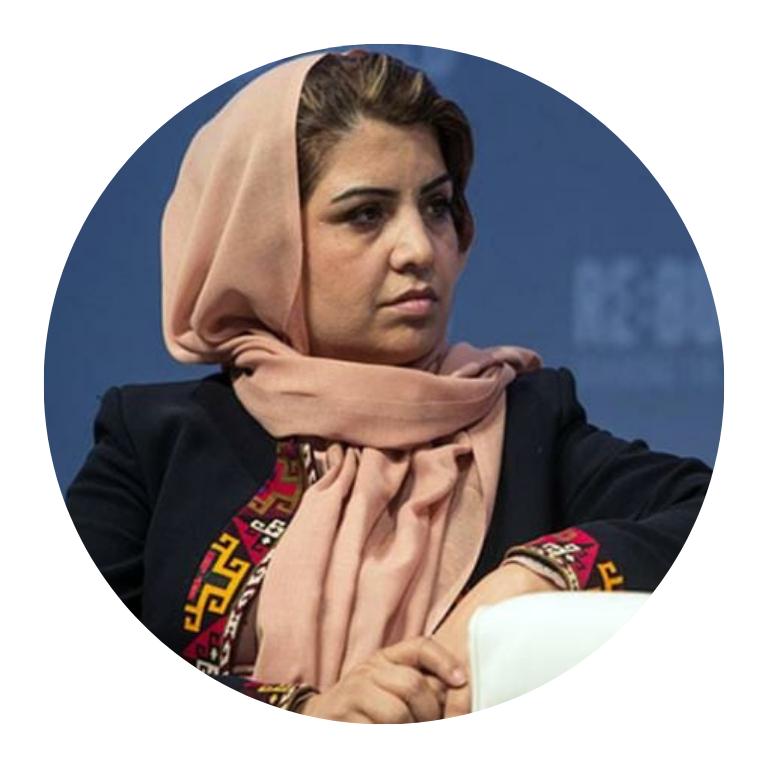 Mujeres empresarias Kamila Sidiqi